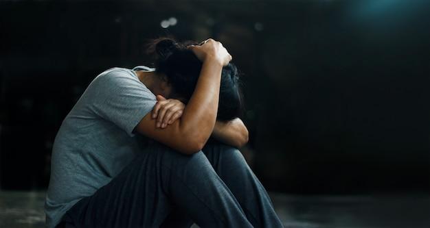 Posttraumatische belastungsstörung. Premium Fotos