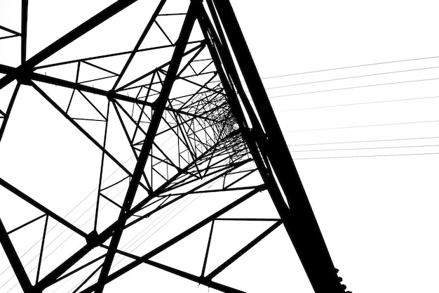 Power transmission tower Premium Fotos