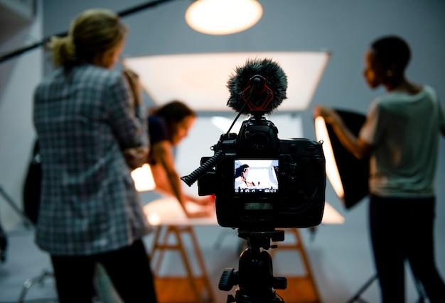 Produktfotografie von schuhen Premium Fotos