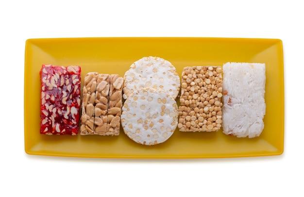 Prophet muhammad geburtstagsfeier desserts Premium Fotos