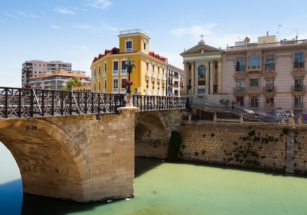Puente viejo de los peligros in murcia, spanien Kostenlose Fotos