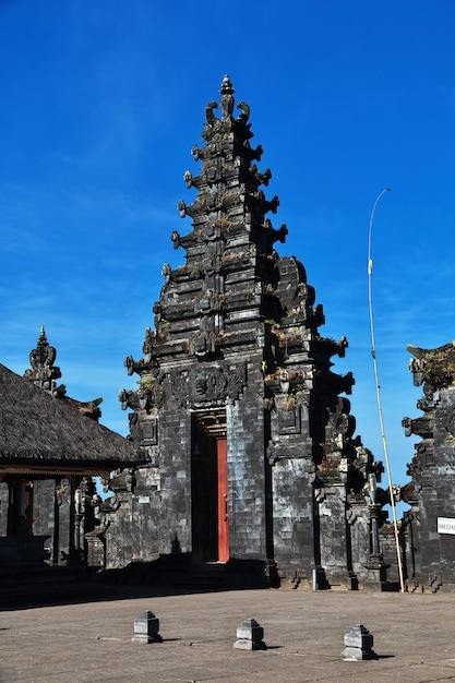 Pura besakih-tempel auf bali, indonesien Premium Fotos