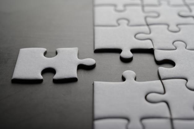 Puzzle mit fehlendem stück. fehlende puzzleteile Kostenlose Fotos