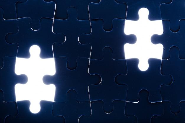 Puzzle. Premium Fotos