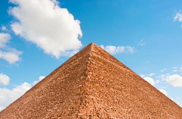 Pyramidenspitze Premium Fotos