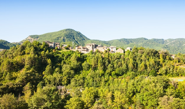 Dorf Im Wald