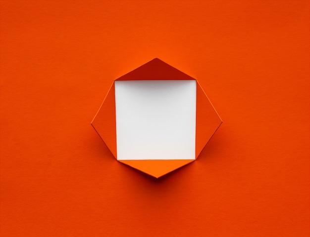 Quadratischer rahmen aus üppigem lavapapier. minimales konzept. platz für text oder bild. Premium Fotos