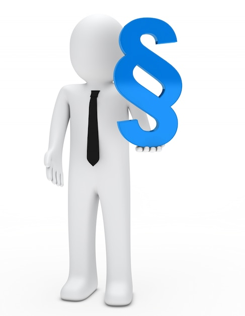 Rag mit einem blauen symbol Kostenlose Fotos