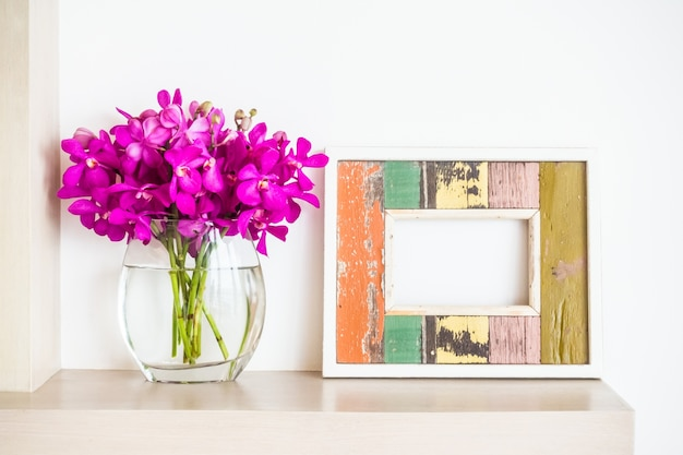 Rahmen und Blumentopf | Download der kostenlosen Fotos