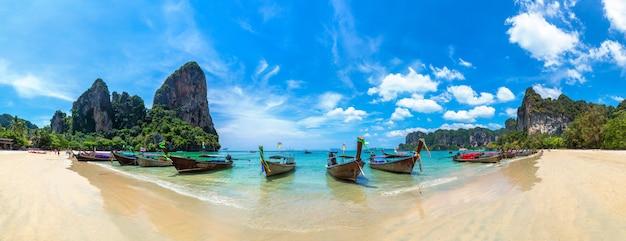 Railay beach, krabi, thailand Premium Fotos