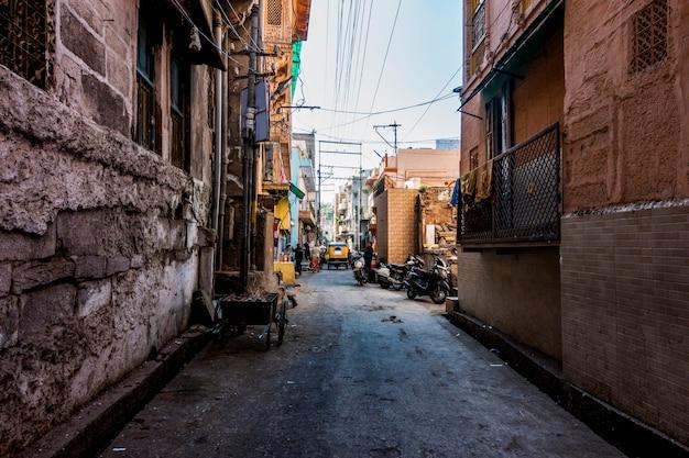 Rajasthani-lebensgemeinschaft in indien Kostenlose Fotos