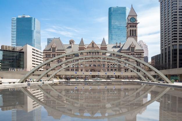 Rathaus von toronto Premium Fotos