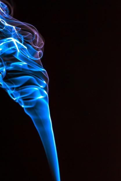 Rauch blau abstrakten hintergrund Premium Fotos