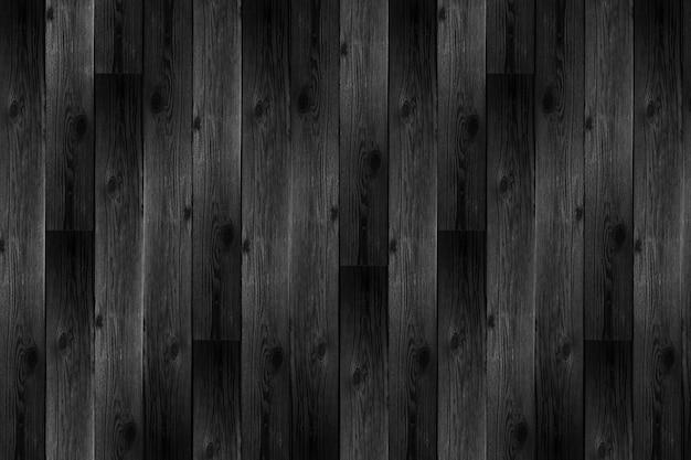 Realistischer schwarzer hölzerner hintergrund Premium Fotos