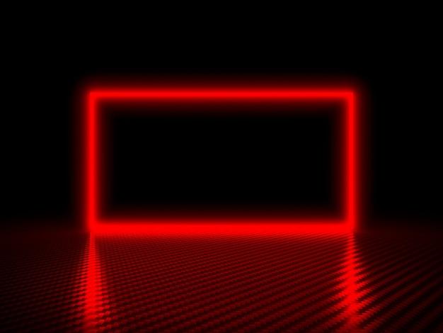 Red frame hintergrund Premium Fotos