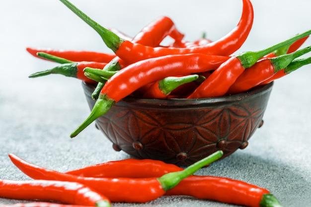 Red hot chili pepper pod Premium Fotos