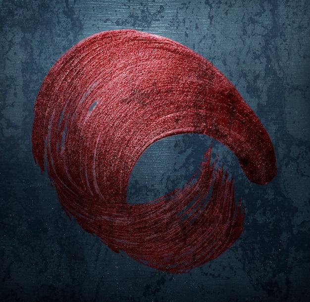 Red pinselstrich abzeichen Kostenlose Fotos