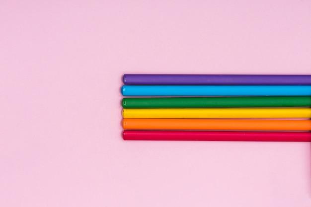 Regenbogen buntstifte lgbt Kostenlose Fotos