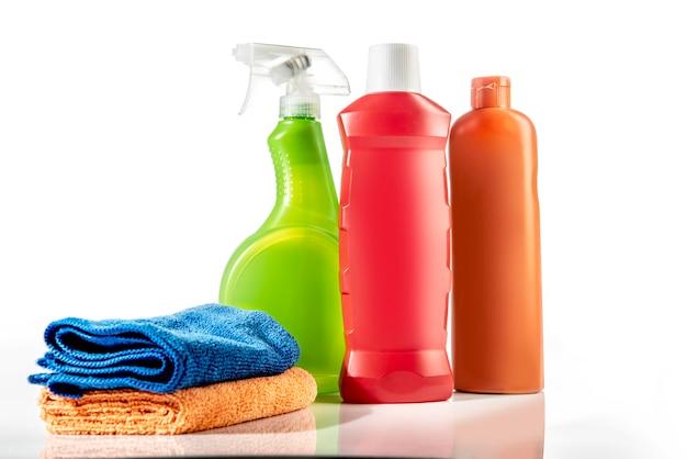 Reinigungszubehör Premium Fotos