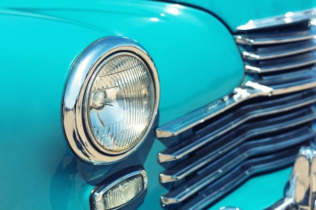 Retro autoscheinwerfer Premium Fotos
