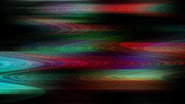 Rgb-störung, farbdoppelbelichtung Premium Fotos