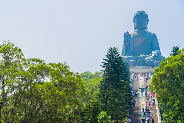 Riesiger buddha in hong kong Kostenlose Fotos