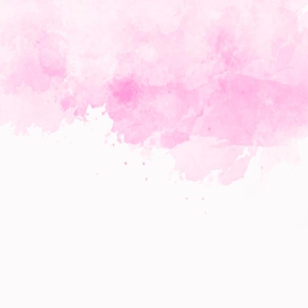 Rosa aquarellbeschaffenheit mit copyspace an der unterseite Kostenlose Fotos