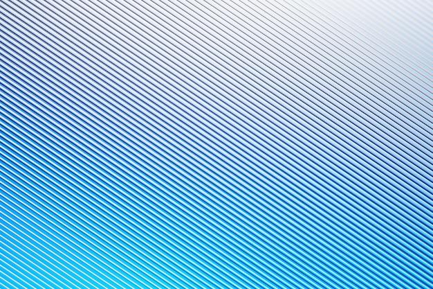 Rosa muster der 3d illustration im geometrischen zierstil von den blauen diagonalen streifen. Premium Fotos
