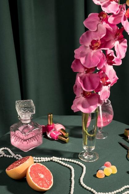 Rosa orchidee nahe bei girly anordnung Kostenlose Fotos