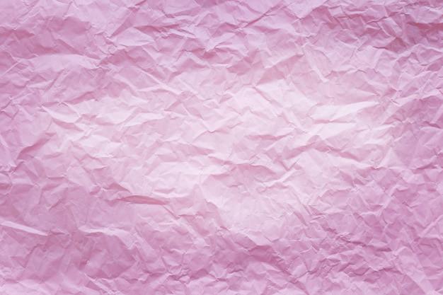 Rosa zerknittertes recyclingpapier Premium Fotos