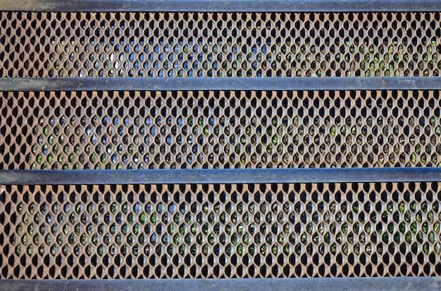 Rostige metallmaschenbeschaffenheit Premium Fotos