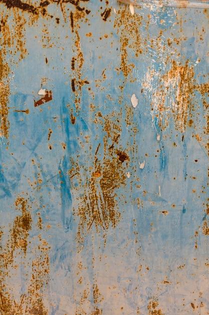 Rostige metalloberfläche mit lack Kostenlose Fotos