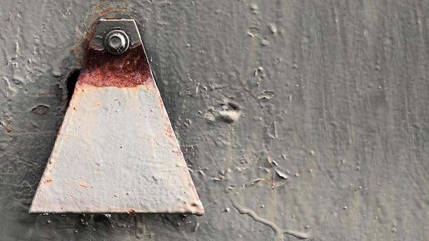 Rostige und zerkratzte stahlstruktur mit dekoration Kostenlose Fotos