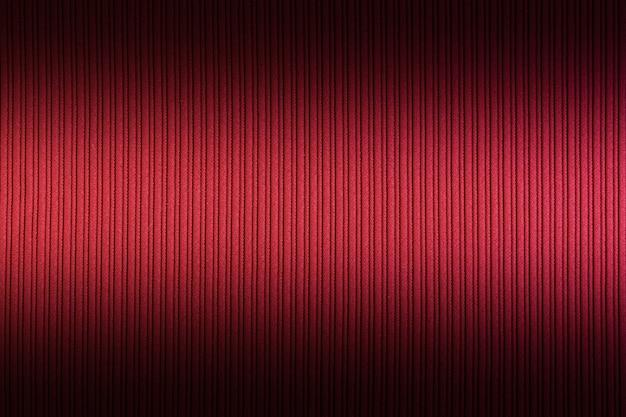 Rote farbe des dekorativen hintergrundes, gestreiftes texturegradient. tapete. Premium Fotos