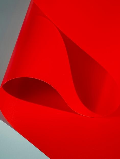 Rote gebogene blätter Kostenlose Fotos