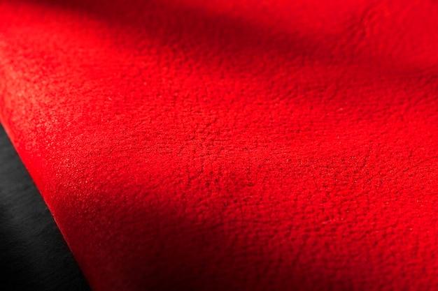 Rote ledertextur-hintergrundoberfläche Kostenlose Fotos