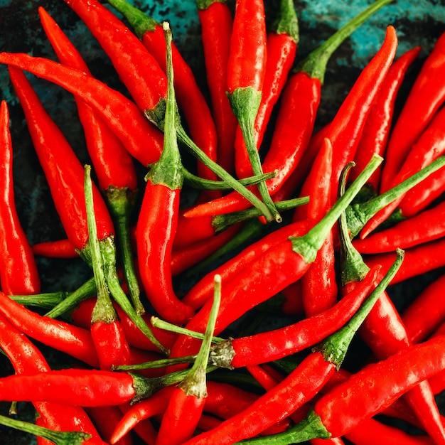Rote paprikapfeffer-nahaufnahme Premium Fotos