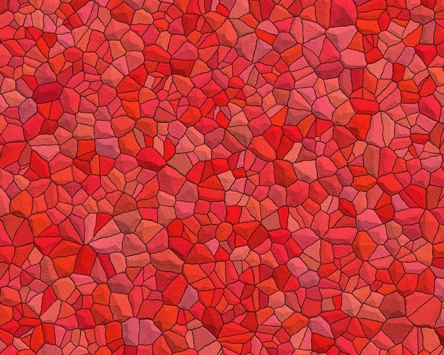 Roter trencadis hintergrund Premium Fotos