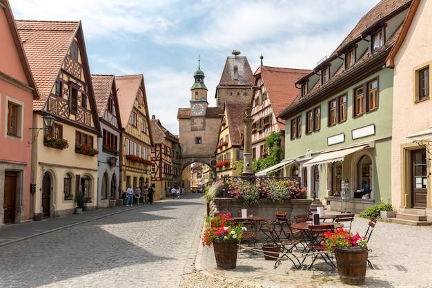 Rothenburg ob der tauber deutschland Premium Fotos