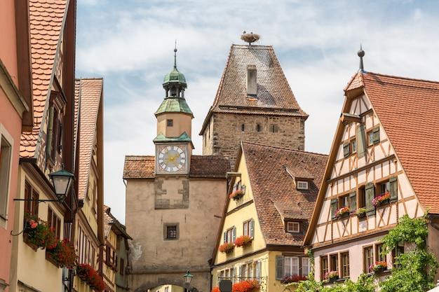 Rothenburg ob der tauber Premium Fotos