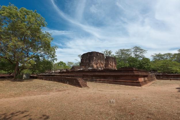 Ruinen des königspalastes Premium Fotos