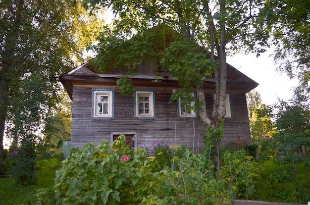 Russischer stil in der architektur Premium Fotos