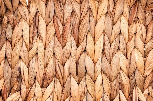 Rustikale natürliche weidenbeschaffenheit Premium Fotos