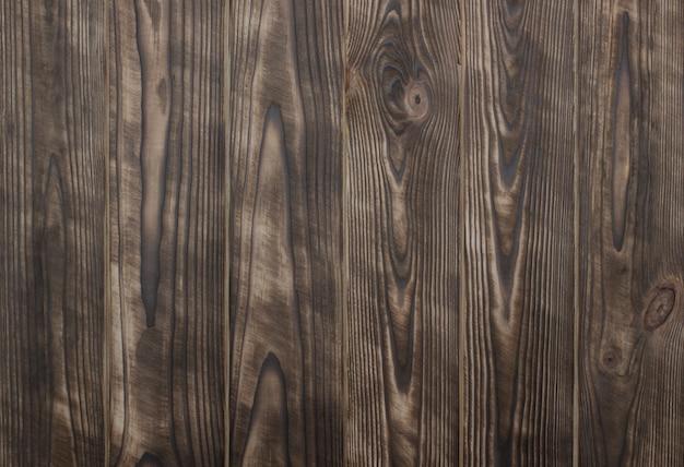 Rustikaler natürlicher hölzerner hintergrund browns mit gebürsteten planken Premium Fotos