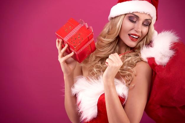 Sack ist zu klein für alle geschenke Kostenlose Fotos