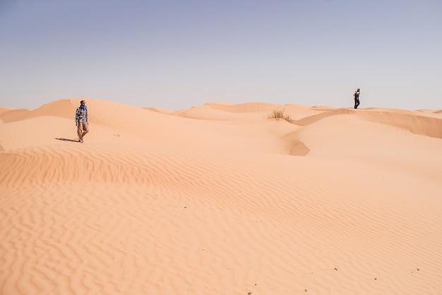 Sahara wüste Premium Fotos