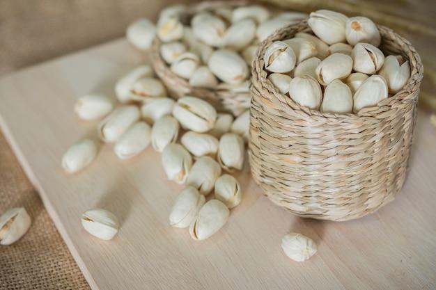 Salzige pistazien Premium Fotos