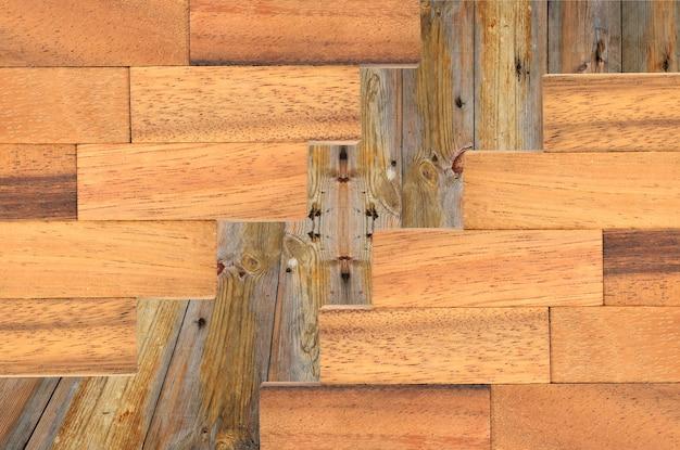 Sammlung hölzerne plankenbeschaffenheiten Premium Fotos