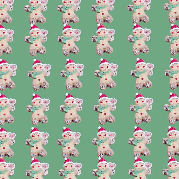 Sammlung von keksen in form von weihnachtsspielwaren Kostenlose Fotos