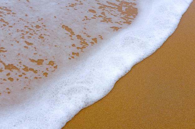 Sand und wasser des meeres Premium Fotos